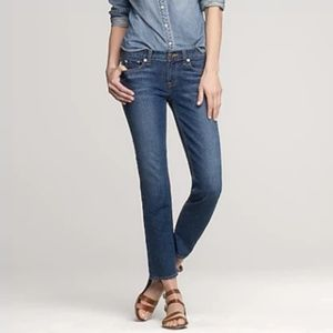 J Crew cropped matchstick jean